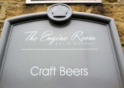 the_engine_room_Engine Room signage