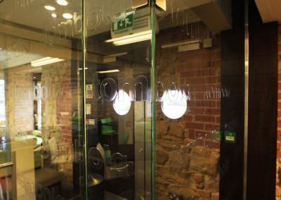 tombola_Glass Entranceway detail