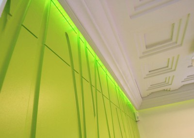 tombola_Green Room Wall and Ceiling detail