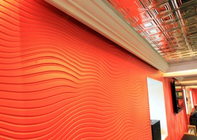 tombola_Red Room Wall and Ceiling detail